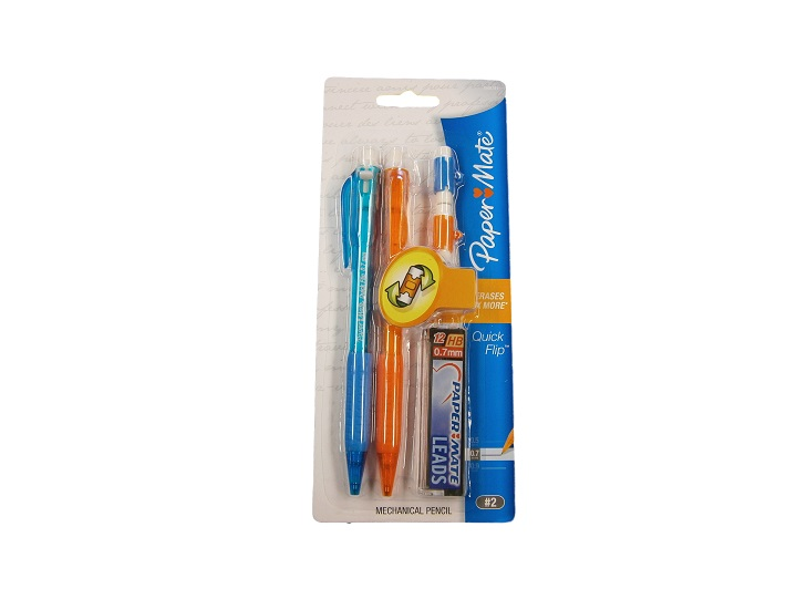 Paper Mate Quick Flip Pencil - 2 Pack