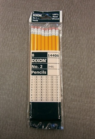 Dixon #2 Wood Pencils - 8 Pack