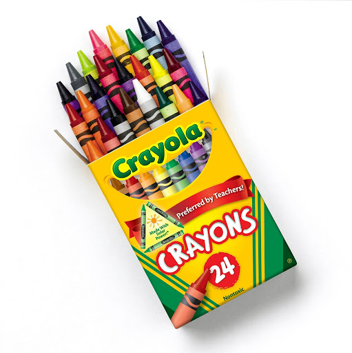 Image For 24 Pack Crayola Crayons