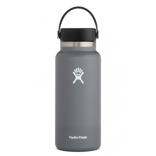 Image For Hydroflask 32oz Wide Mouth Stone