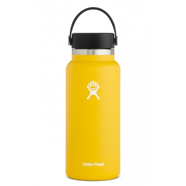 Image For Hydroflask 32oz Wide Mouth Sunflower