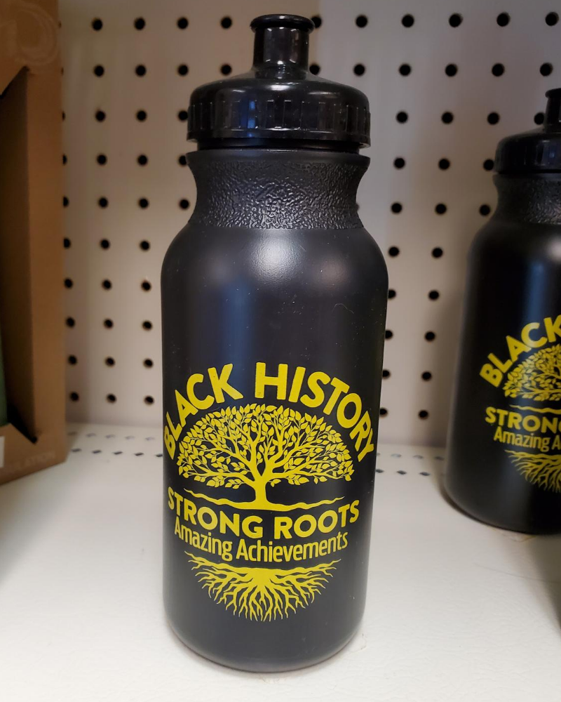 Image For Black History Month Water Bottle