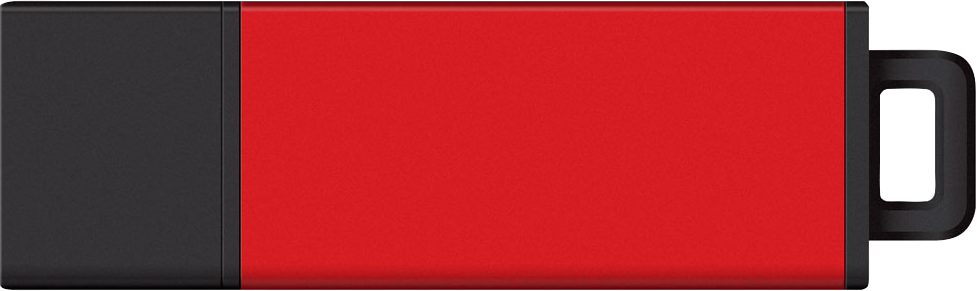Image For Centon DataStick Pro2 2.0 USB Drive - Red 8GB