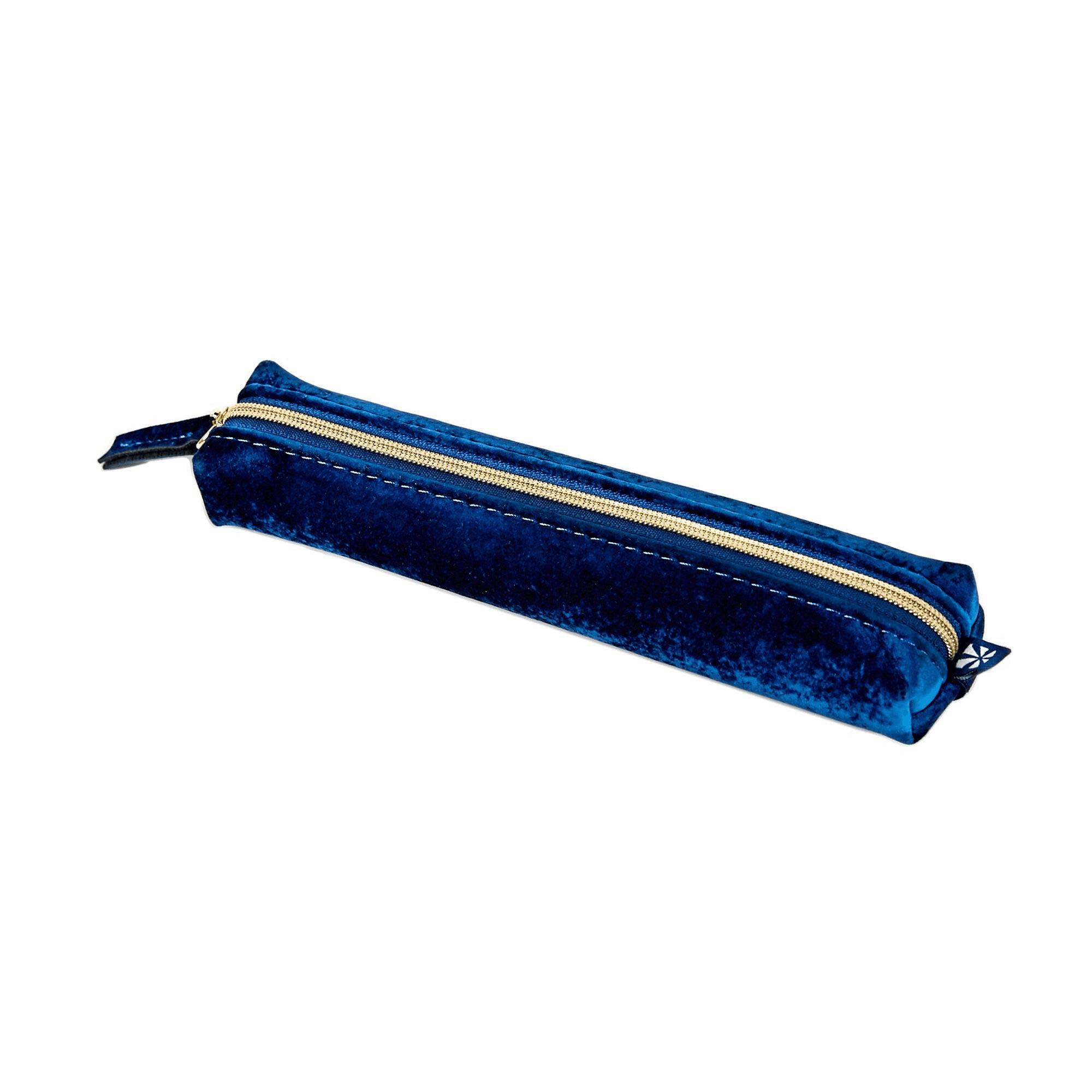 Image For Blue Velvet Pencil Pouch